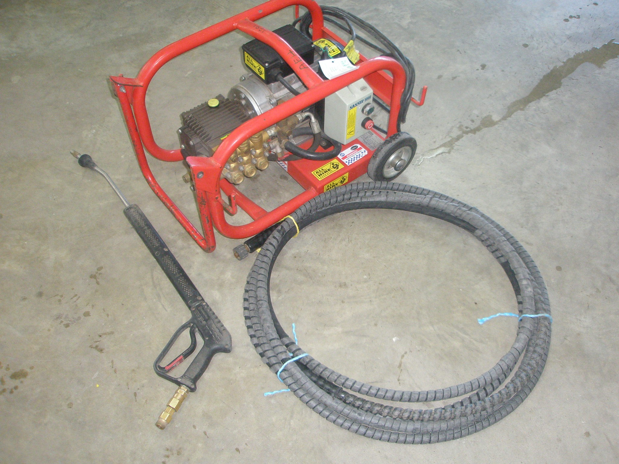 1400PSI Cold Water Pressure Washer Electric