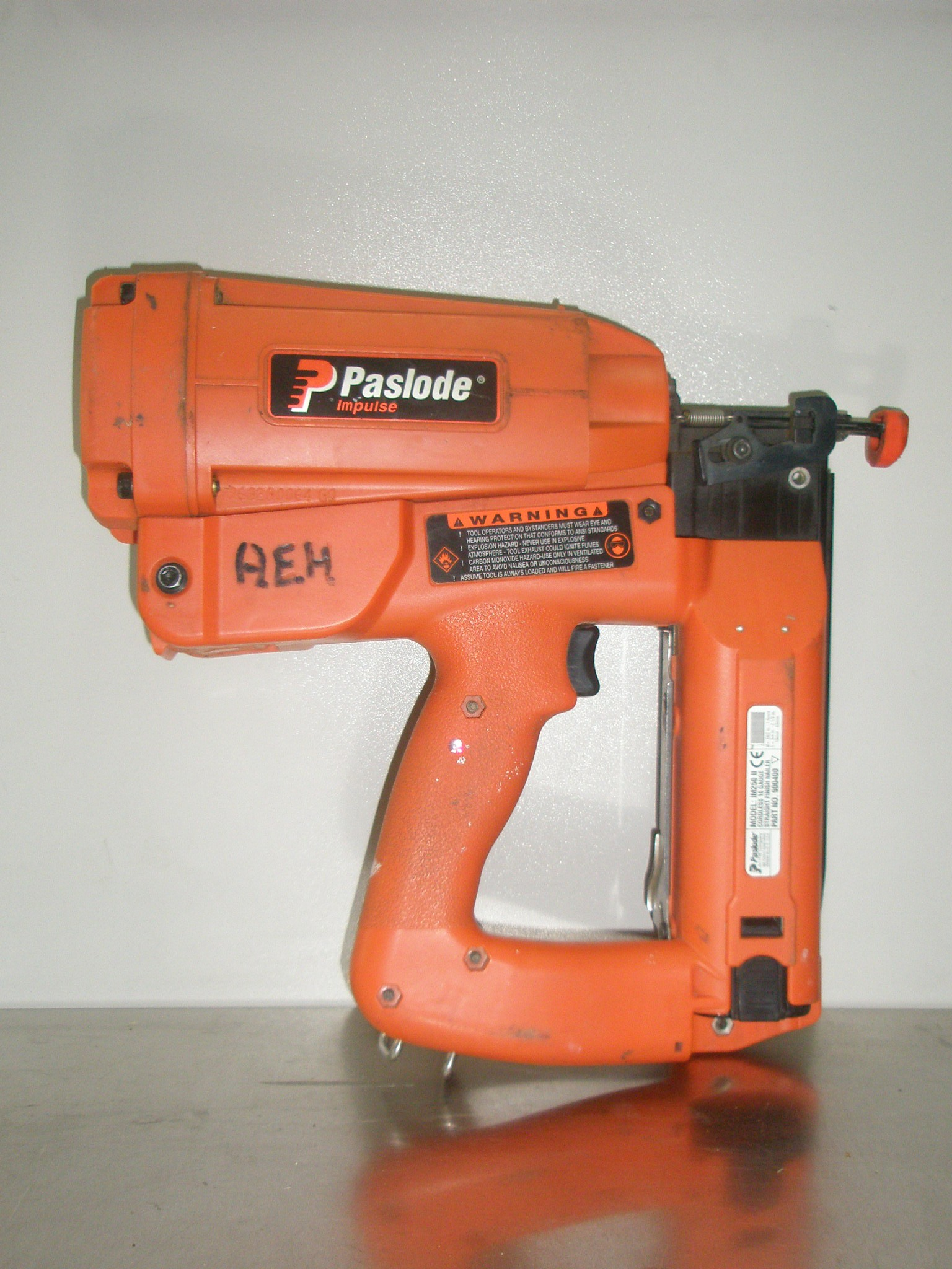 2nd Fix Nail Gun Paslode Gas Operated   All Equipment Hire ...