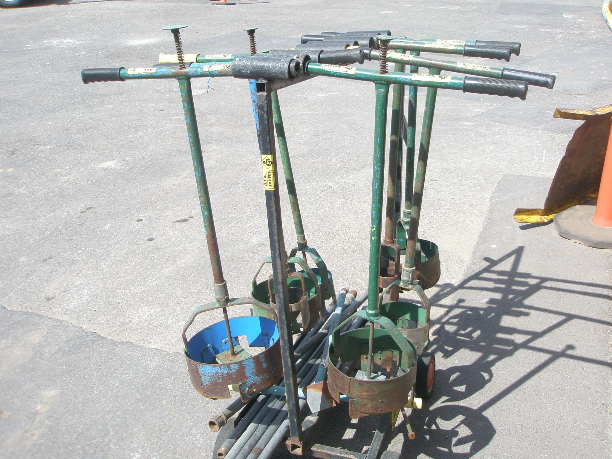 Hand Operated Manual Post Hole Borer