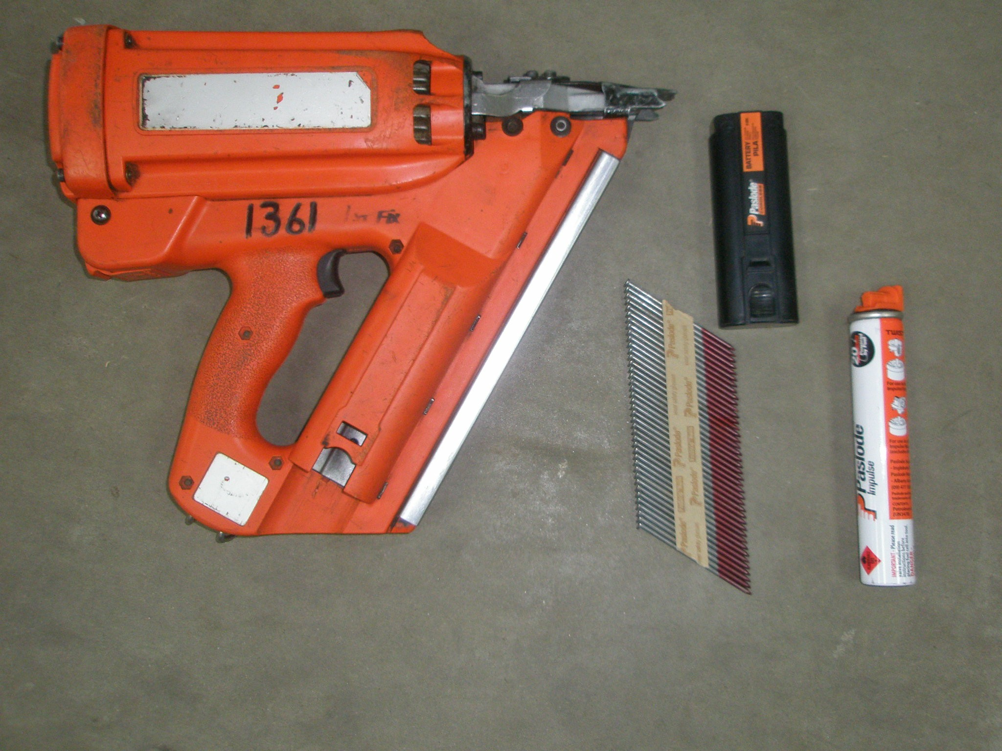 1st Fix Nail Gun Paslode Gas Operated All Equipment Hire