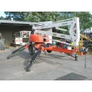 Cherry Picker 13M Mobile Hydraulic Trailer Mounted Work Platform