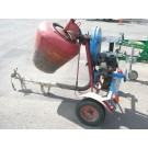 Concrete Mixer Petrol Towable