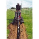 Trenching Attachment c/w Mini Skid Steer Loader Dingo