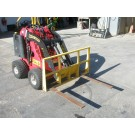 Forks Attachment for Mini Skid Steer Loader Dingo