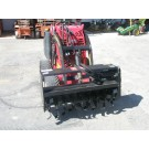 Rotary Hoe Attachment c/w Mini Skid Steer Loader Dingo